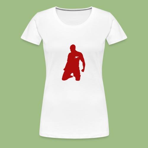 Thierry Henry skal - Premium-T-shirt dam