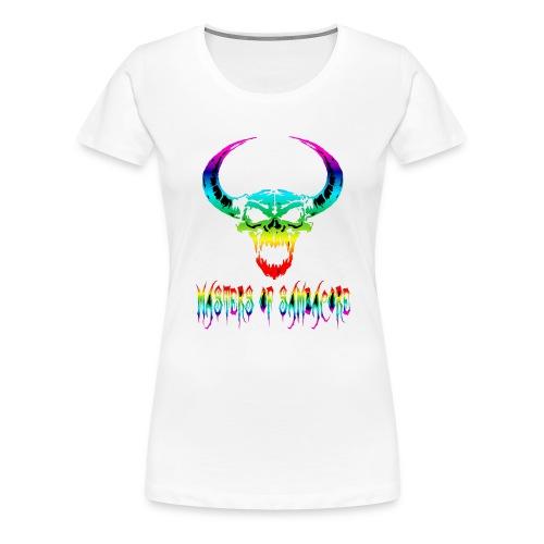 mos2 png - Vrouwen Premium T-shirt