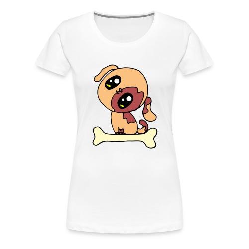 Kawaii le chien mignon - T-shirt Premium Femme