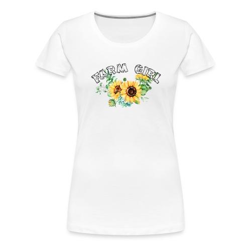 Farm Girl - Women's Premium T-Shirt