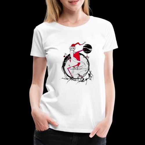 D25 Rey de la Ciudad de Halloween low - Camiseta premium mujer