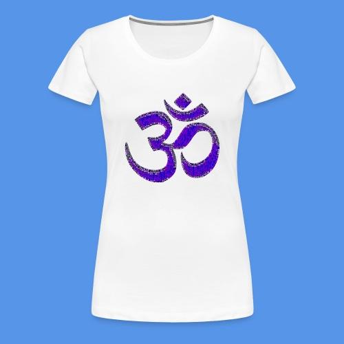 Om (mosaic version) - Women's Premium T-Shirt