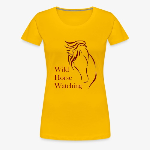 Logo Aveto Wild Horses - Maglietta Premium da donna