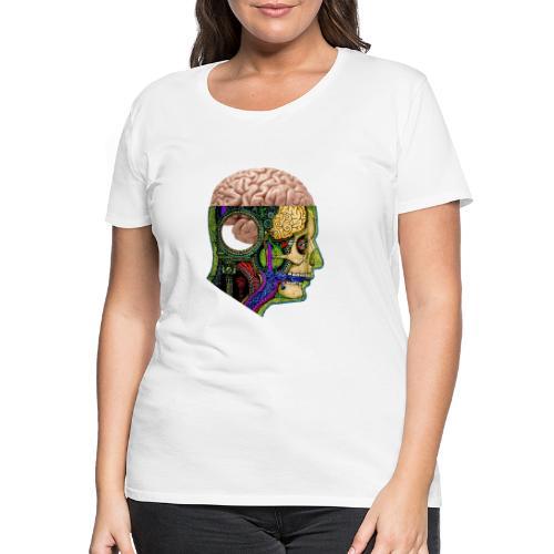 Tête cerveau - T-shirt Premium Femme