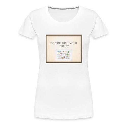 P1 - T-shirt Premium Femme