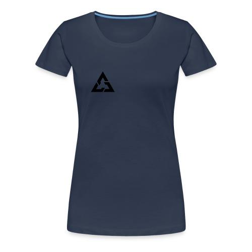 Angle Logo Brand - Maglietta Premium da donna