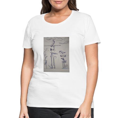 Preghiera - Maglietta Premium da donna