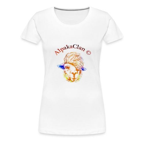 AlpakaClan Gold - Frauen Premium T-Shirt