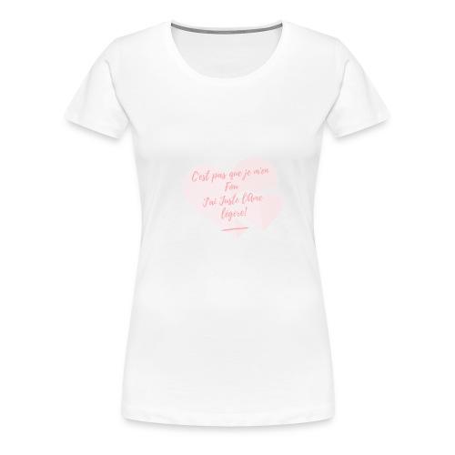 Légèreté - T-shirt Premium Femme