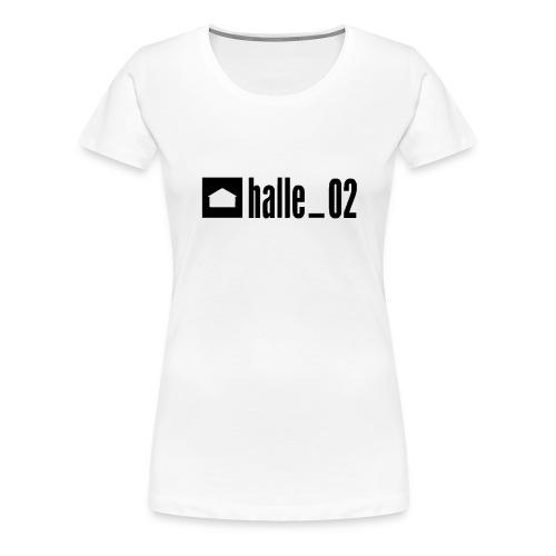 HALLE02 - Frauen Premium T-Shirt