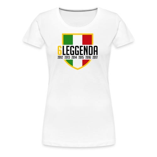 6LEGGENDA - Maglietta Premium da donna
