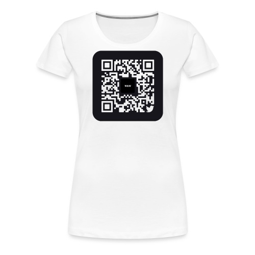 W&W Instagram QR - Women's Premium T-Shirt