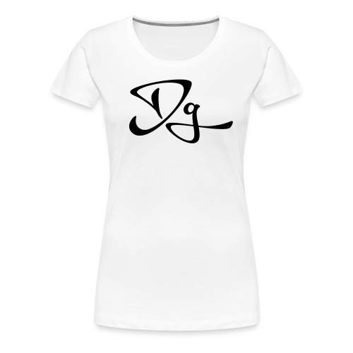 Dg tröja - Premium-T-shirt dam