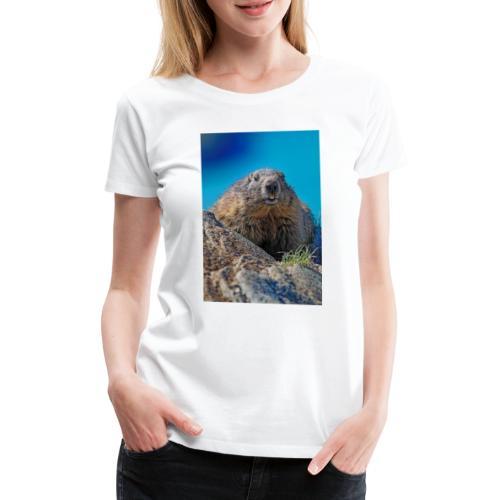 Das Murmeltier - Frauen Premium T-Shirt