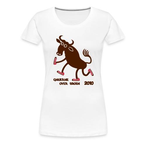 Gnuerne over broen - Women's Premium T-Shirt