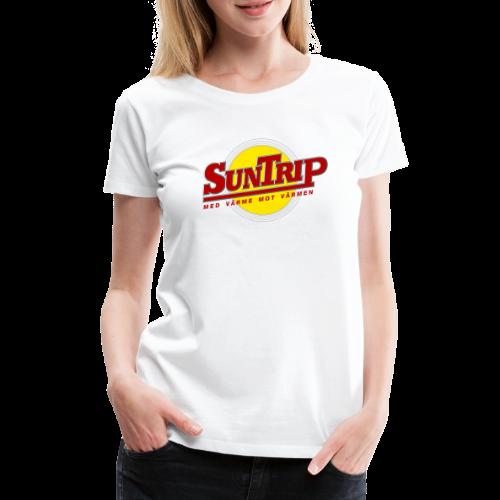 SunTrip originalet - Premium-T-shirt dam