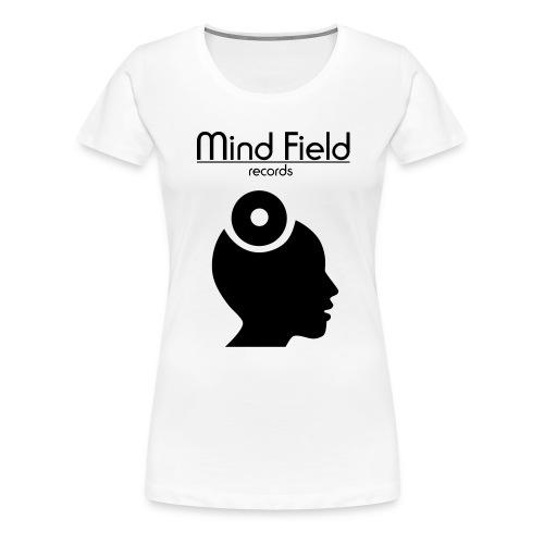 FinWhite MindFieldLogoLAR - Women's Premium T-Shirt