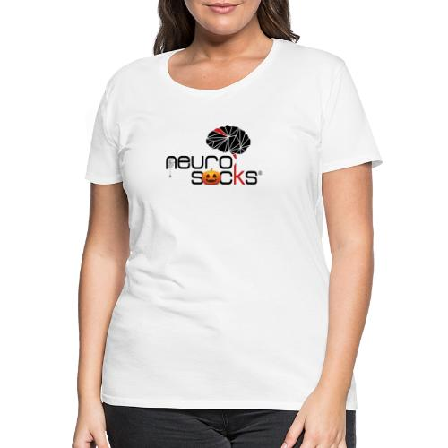 NeuroSocks - Halloween Logo - Frauen Premium T-Shirt