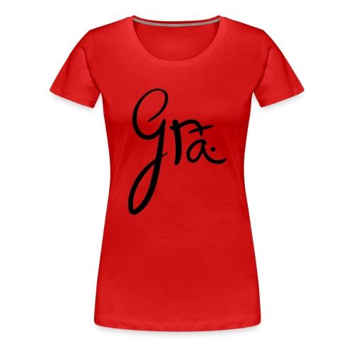 logo-trans-ai - Vrouwen Premium T-shirt
