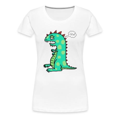squishy idiot - Women's Premium T-Shirt