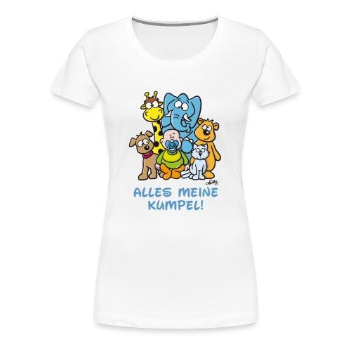 Alles meine Kumpel - Frauen Premium T-Shirt