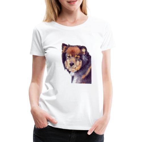 finnish lapphund - Dame premium T-shirt