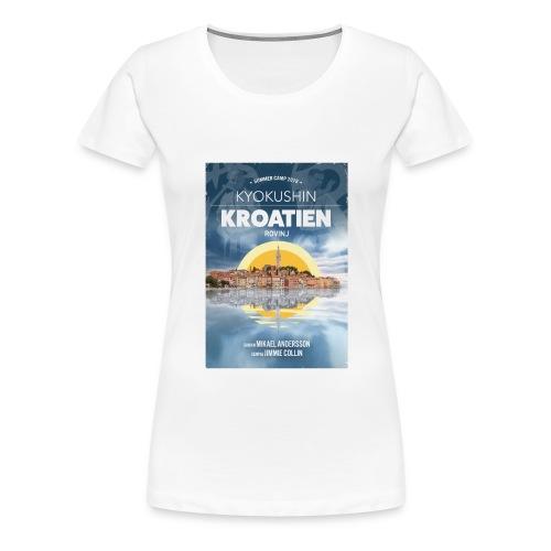 Kyokushin Karate Rovinj 2019 - Premium-T-shirt dam