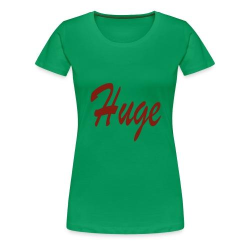 hugekleineletters png - Vrouwen Premium T-shirt