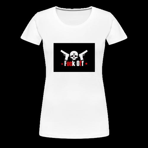 Fuck Off - Premium-T-shirt dam
