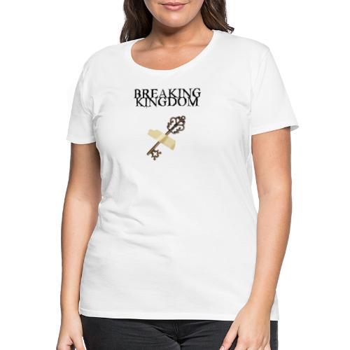BK-Weißes-Design - Frauen Premium T-Shirt