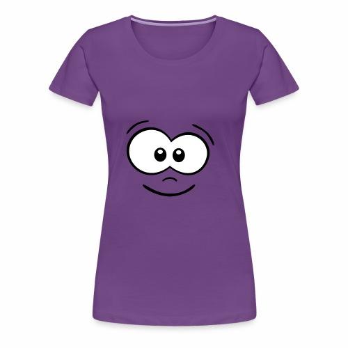 Gesicht fröhlich - Frauen Premium T-Shirt