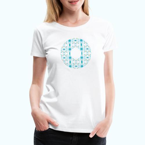 Hippie flowers donut - Women's Premium T-Shirt