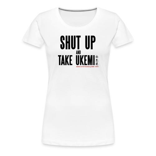 Anniversary T-Shirt Aikido im Hof - Frauen Premium T-Shirt