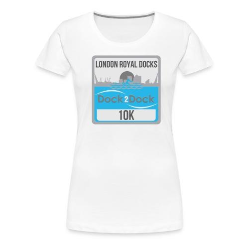 DOCK 2 DOCK CLASSIC BADGE - Women's Premium T-Shirt