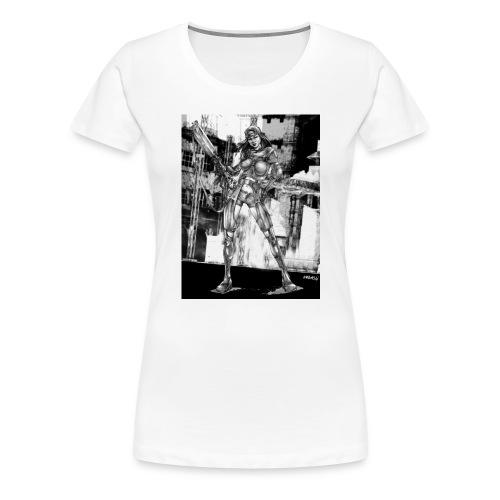 Pin-up of the futur 1 - T-shirt Premium Femme