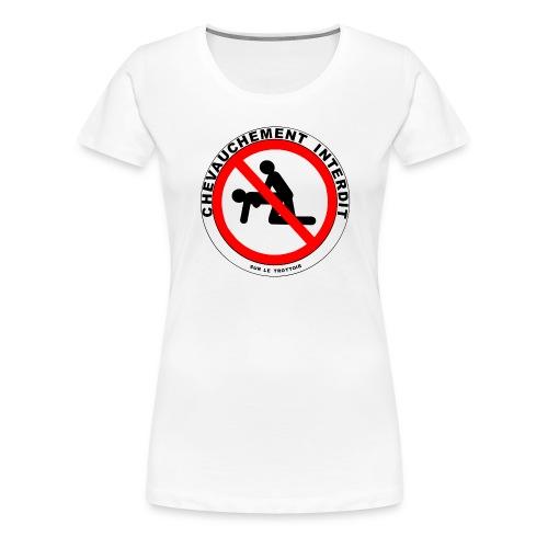 INTERDIT - T-shirt Premium Femme