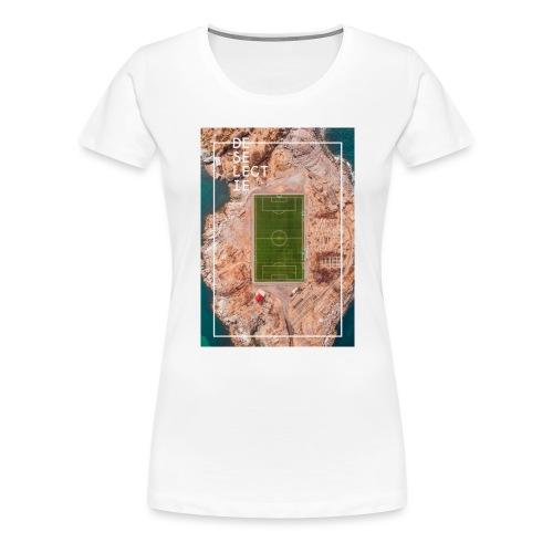 De Selectie - HIT THE FIELD! - Vrouwen Premium T-shirt