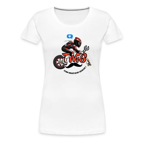 Logo TMG motard - T-shirt Premium Femme