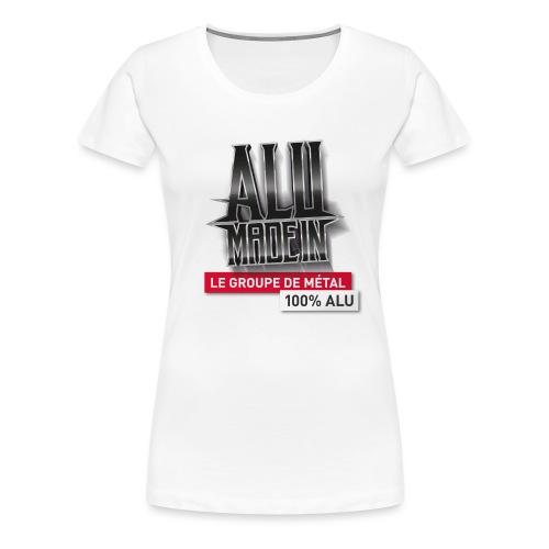 LOGO ALU MADE IN 02 - T-shirt Premium Femme