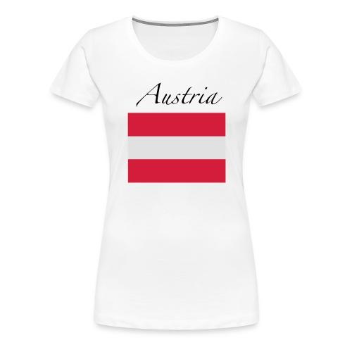Made In Austria - Frauen Premium T-Shirt