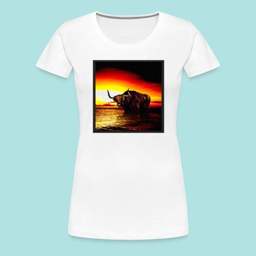 Wandering_Bull - Women's Premium T-Shirt
