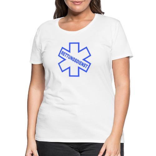 Rettungsdienst - Frauen Premium T-Shirt