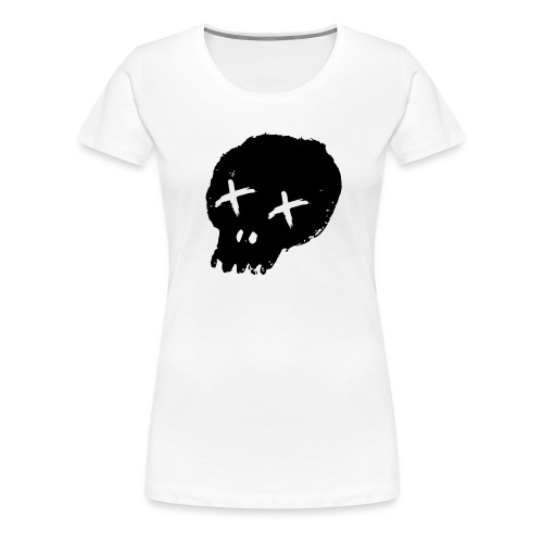 blackskulllogo png - Women's Premium T-Shirt