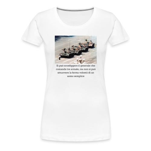 Volontà - Maglietta Premium da donna
