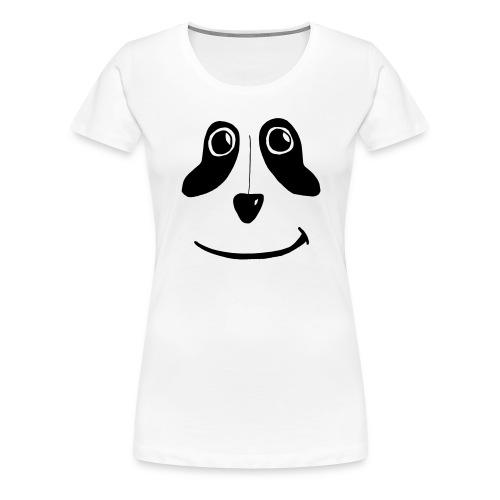 PandaFace - Women's Premium T-Shirt