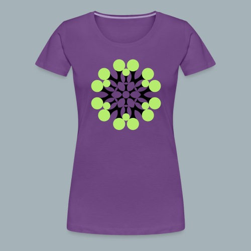 Floral Shirt Long Sleeved - Vrouwen Premium T-shirt