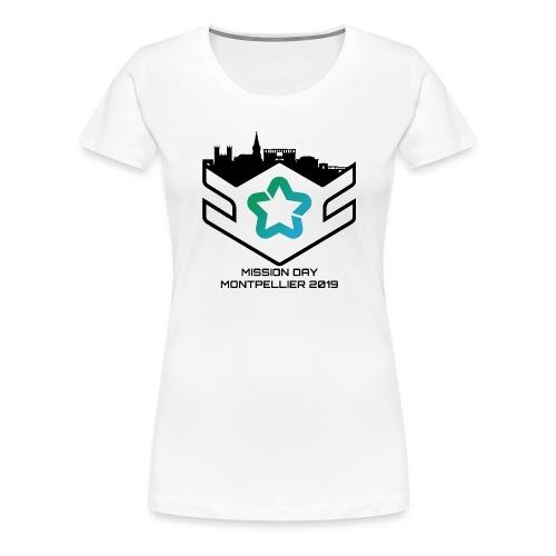 MD black - T-shirt Premium Femme