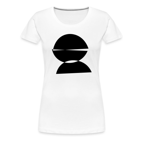 refugee rights abstract - Frauen Premium T-Shirt