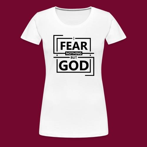 Fear God - Women's Premium T-Shirt