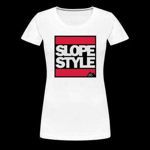 SLOPESTYLE - Frauen Premium T-Shirt